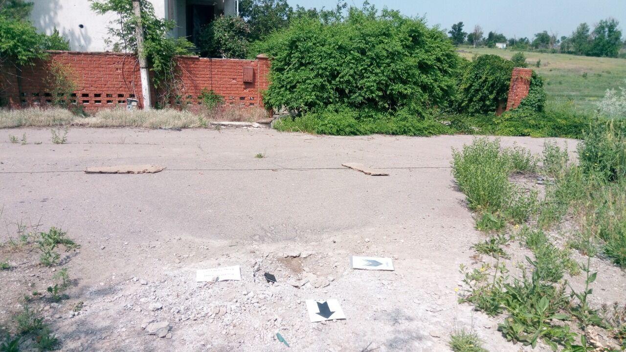 Террористы ударили по мирному населению в Широкино