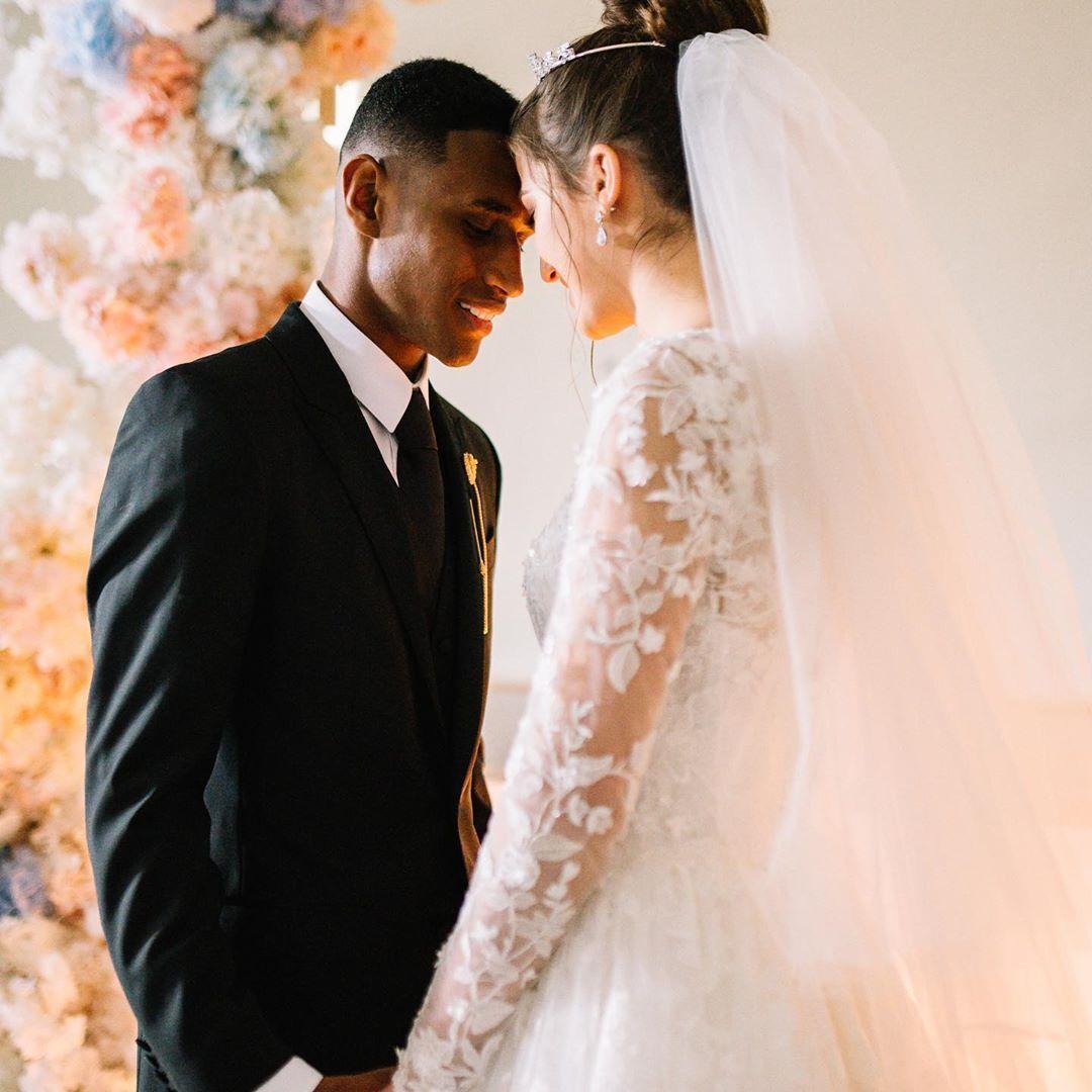 """Бразилец """"Шахтера"""" женился на украинке и показал фото со свадьбы"""