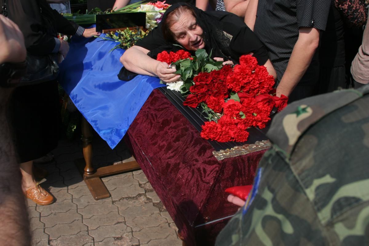 Похороны погибших Героев