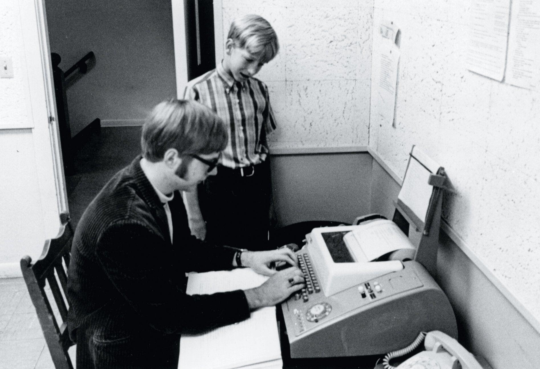 Билл Гейтс и Пол Аллен, 1968 год