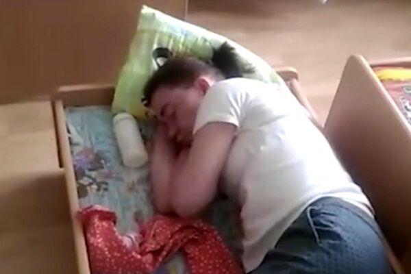 В Екатеринбурге уснула пьяная воспитательница