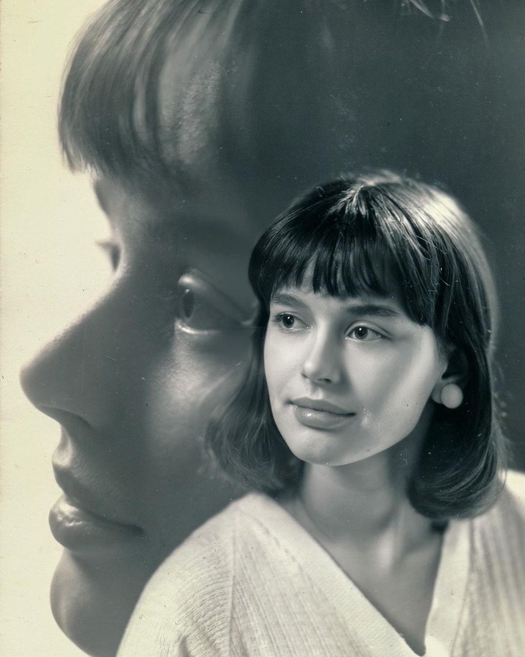 Ірина Безрукова в молодості