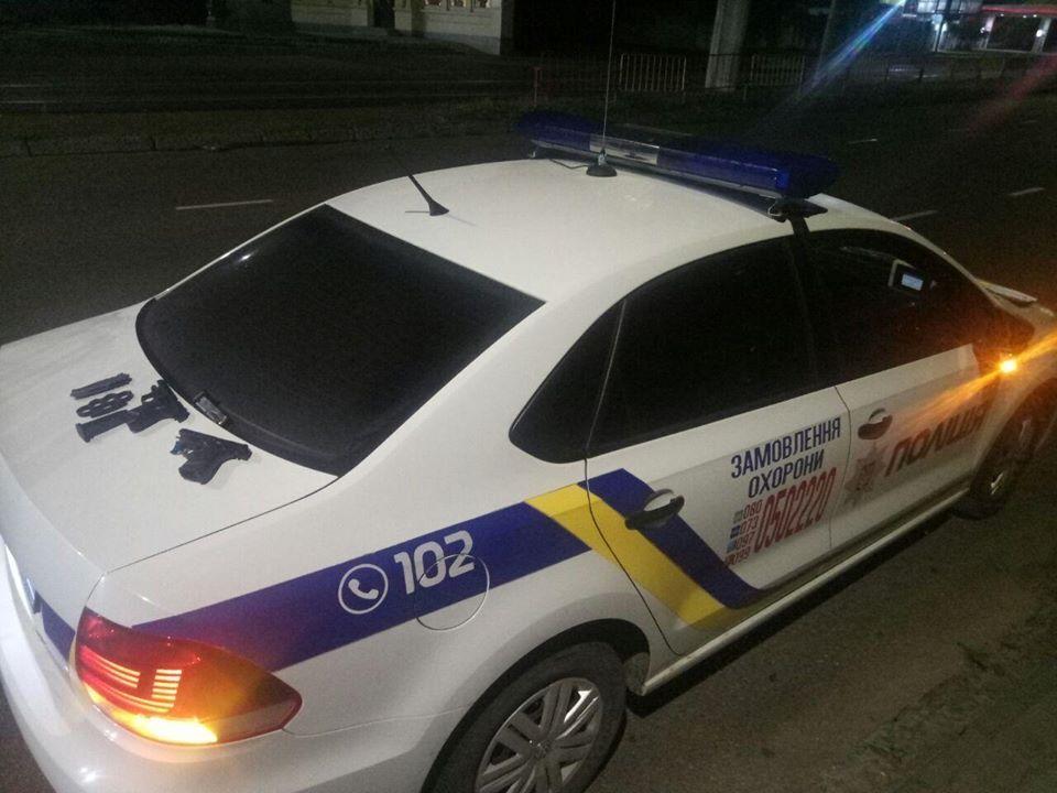 Авто полиции охраны
