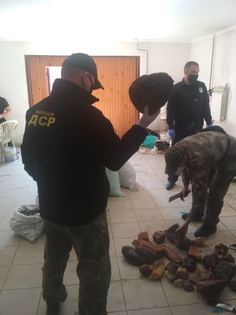 На Ривненщине изъяли 858 кг камней янтаря/Офис генерального прокурора