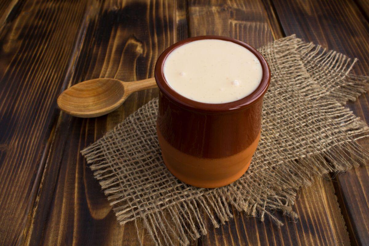 Ряжанка готувалася з пряженого молока