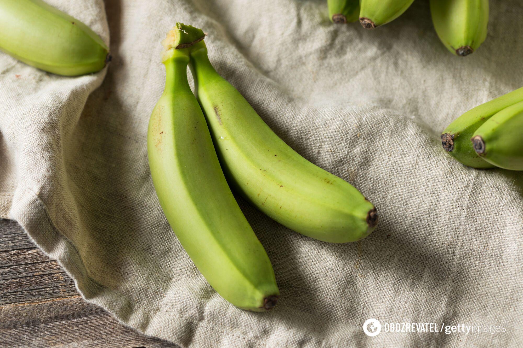 На 1 стадії банан є джерелом пребіотиків для здоров'я кишківника