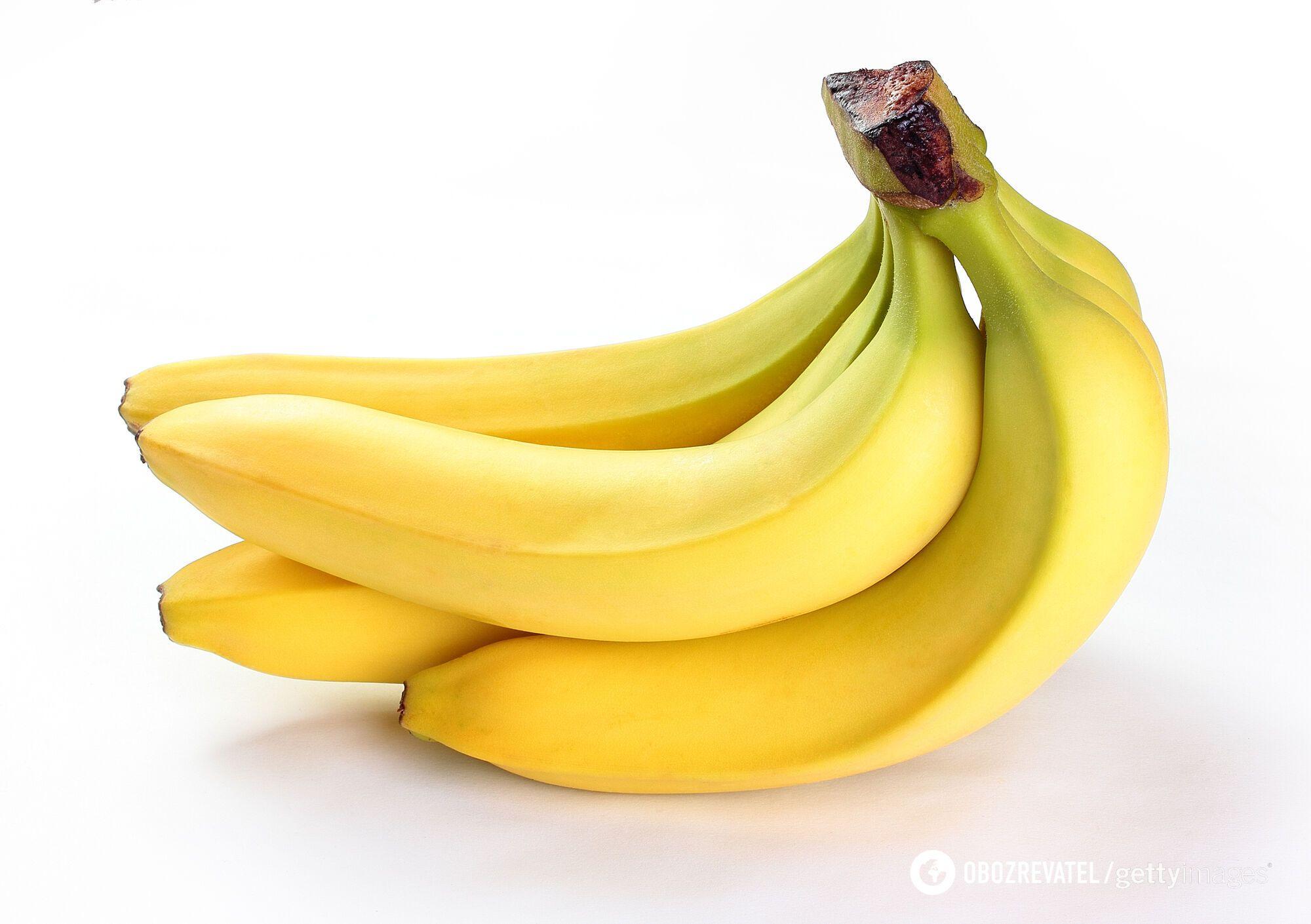 На 2 стадії банан містить високу кількість клітковини і мало цукру
