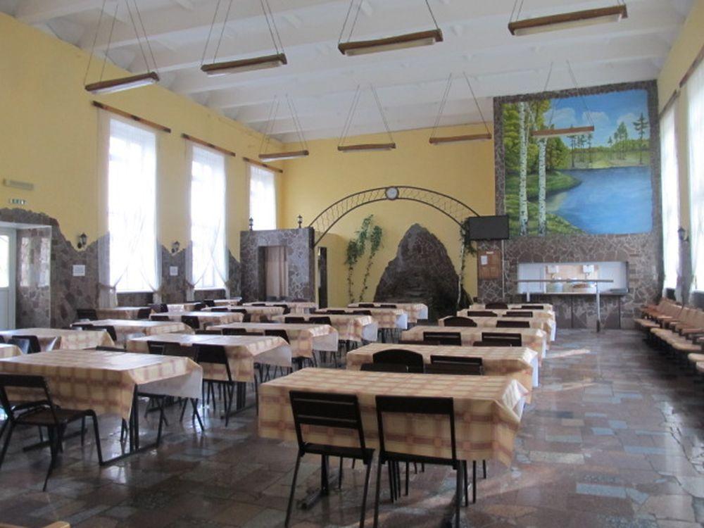 Столовая в Покровском исправительном центре