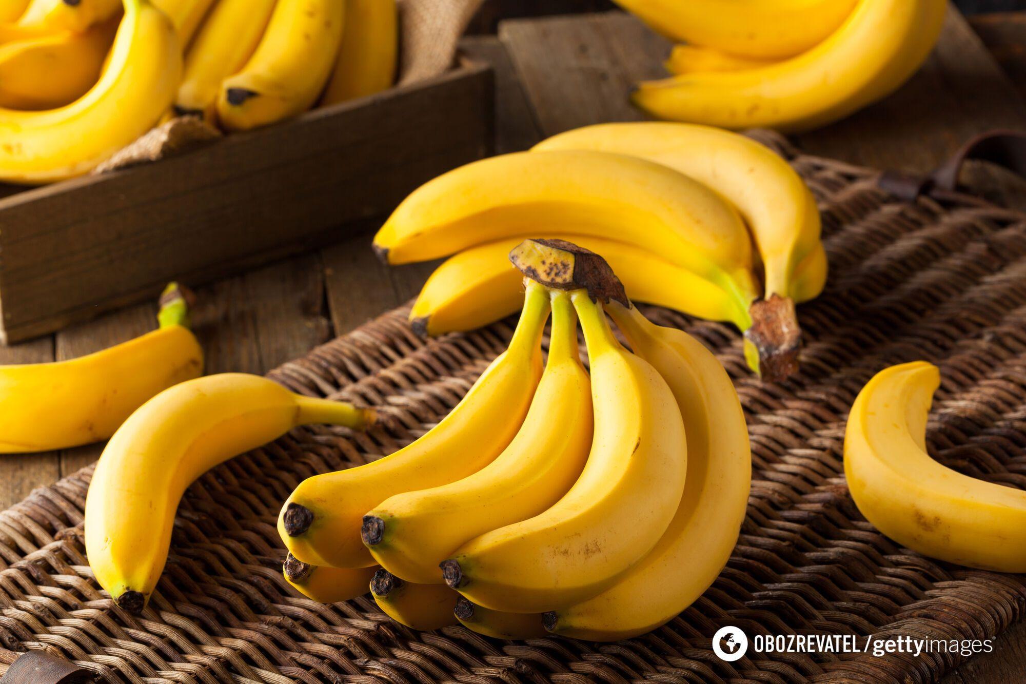 На 3 стадії банан має високий рівень антиоксидантів і гарний вміст клітковини