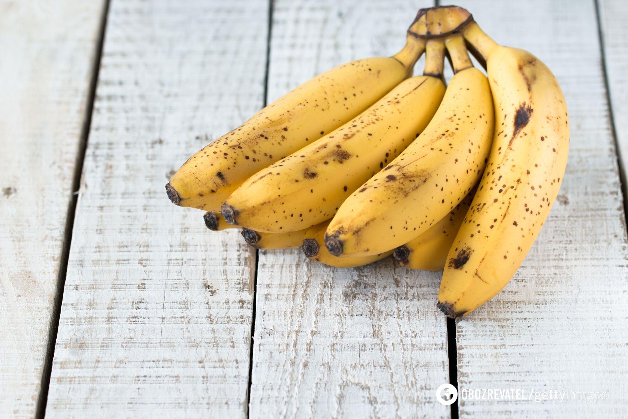 На 4 стадії в банані зменшується кількість вітамінів і мінералів