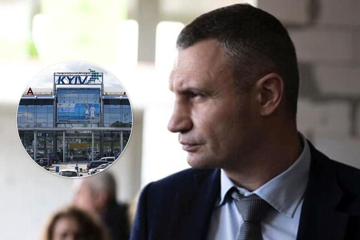 """Кличко назвал варианты для полноценного возобновления работы аэропорта """"Киев"""""""