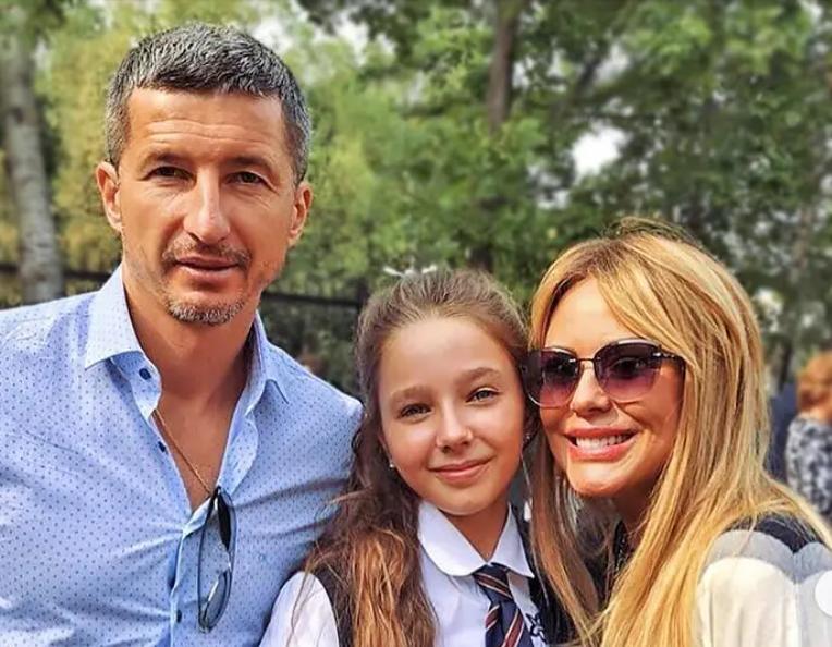 Алдонин и Началова с дочерью