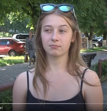 Валерия Чепара. Скрин видео Суспільне