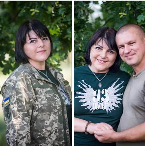 Ірина Шевчишин із чоловіком
