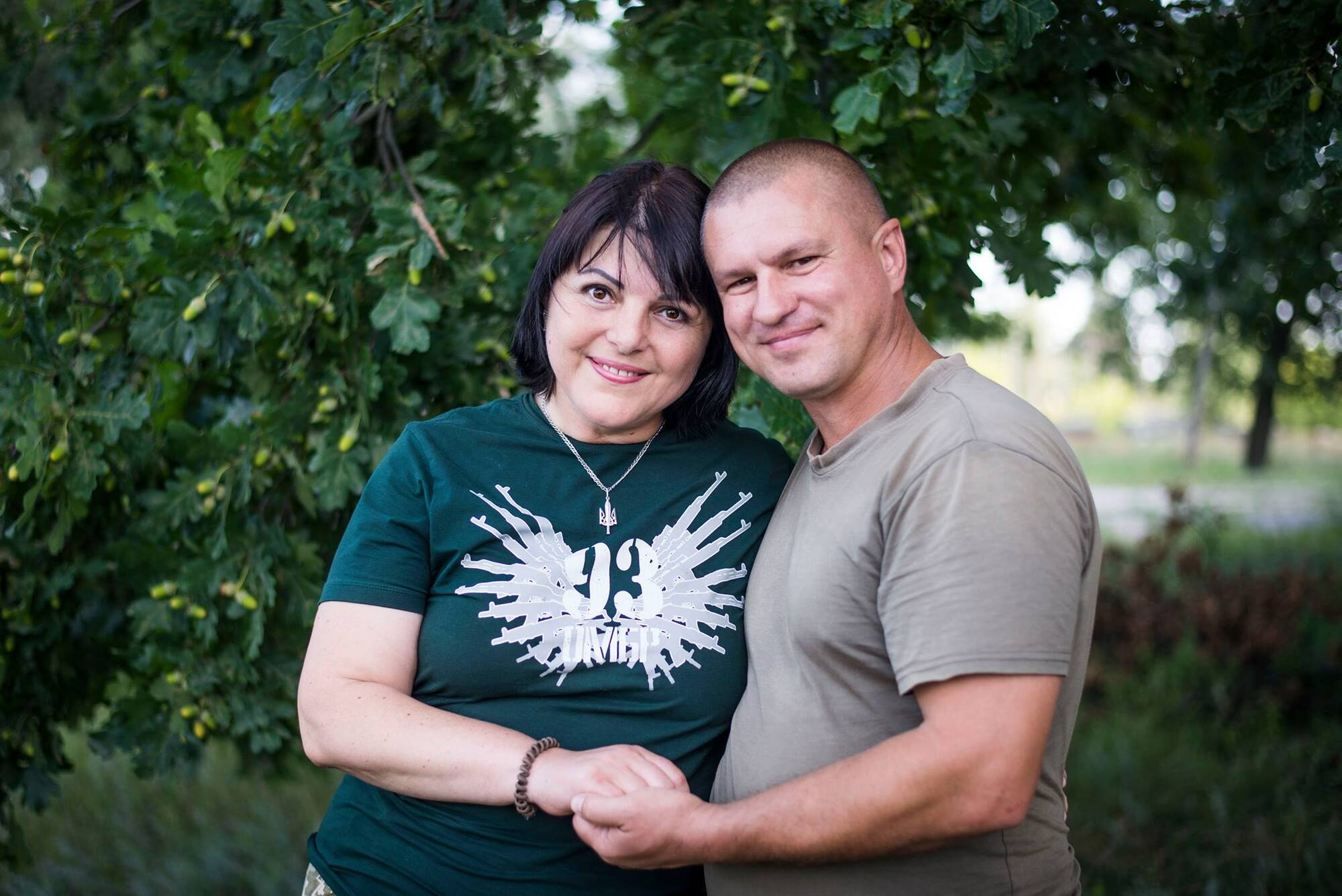 Ірина та Володимир познайомилися під Донецьком