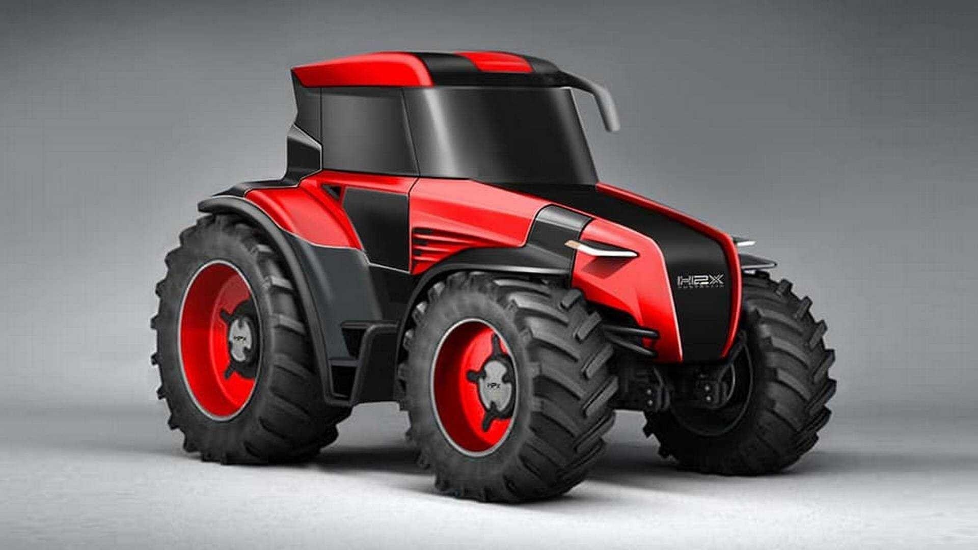 Водородный трактор – это что-то новенькое
