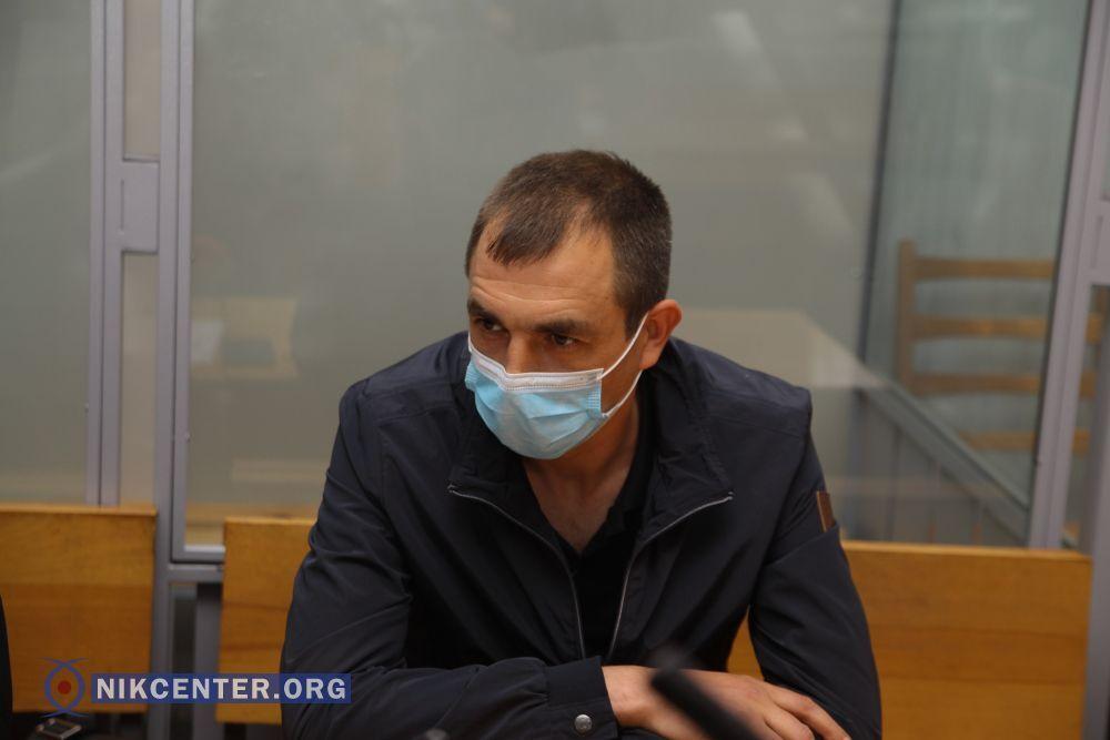 Полицейский Андрей Крецул во время судебного заседания не признал свою вину