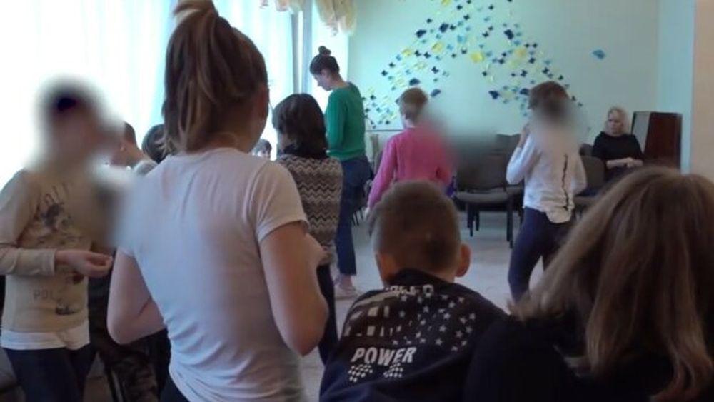 """Дети в Центре социально-психологической реабилитации """"Свитанок"""" (фото – """"Знай"""")"""