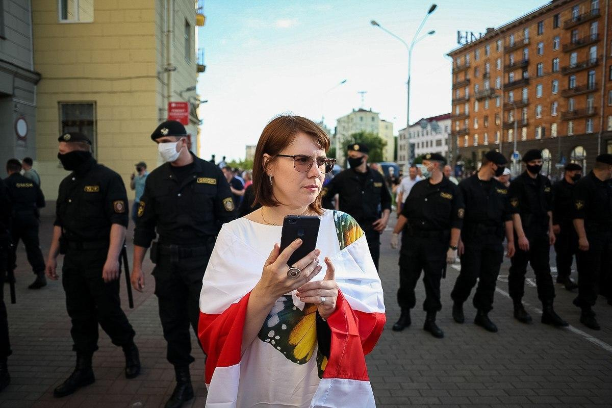 Пікети в Білорусі.