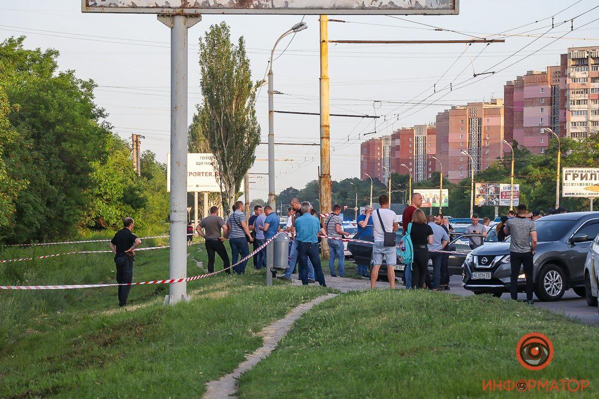 Чрезвычайное происшествие случилось на Запорожском шоссе