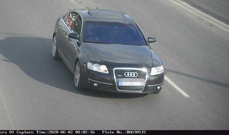 У центрі Одеси спробували пограбувати авто