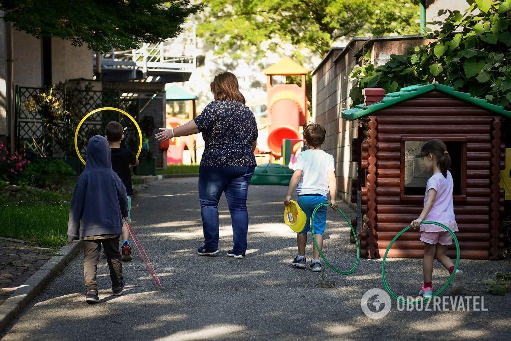 У садках складно дотримуватися дистанції між дітьми