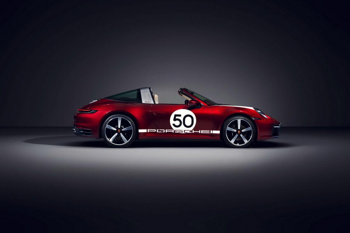 "Porsche 911 Targa 4S Heritage Design Edition – перший в серії з чотирьох ""ретро"" моделей"