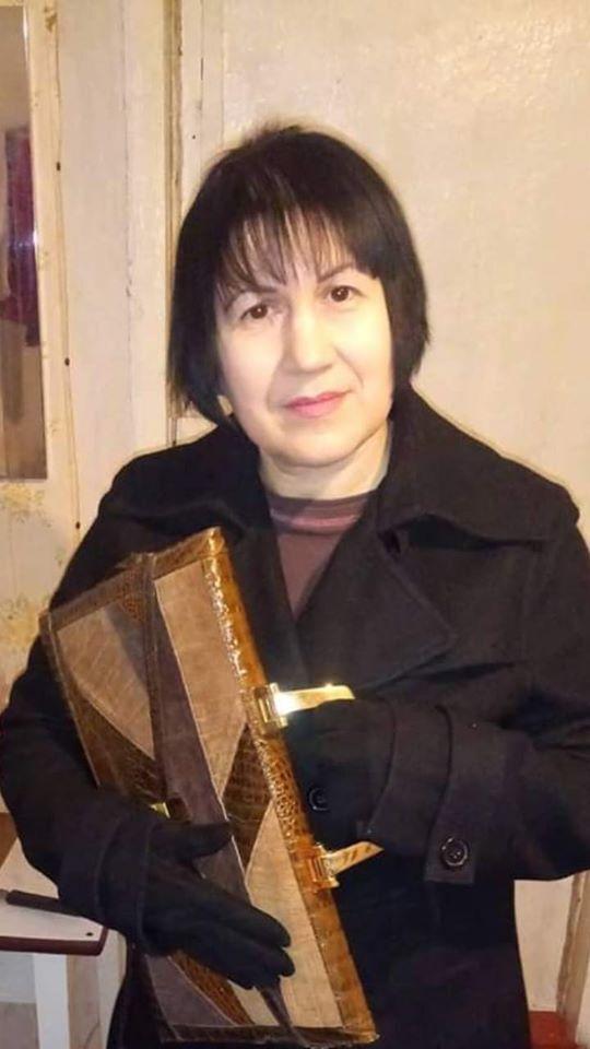 Валентина Бучок подорвалась на растяжке. Фото: Facebook Татьяны Борисенко