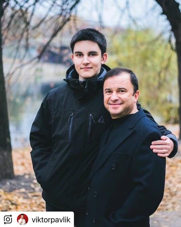 Віктор Павлік разом із сином Павлом