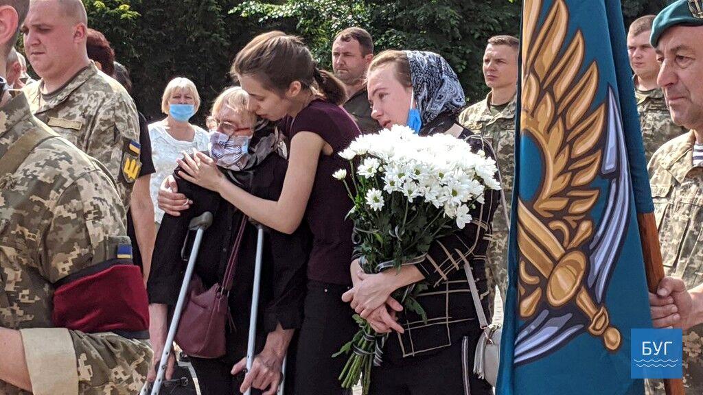 Прощание с Героем Ильей Струком