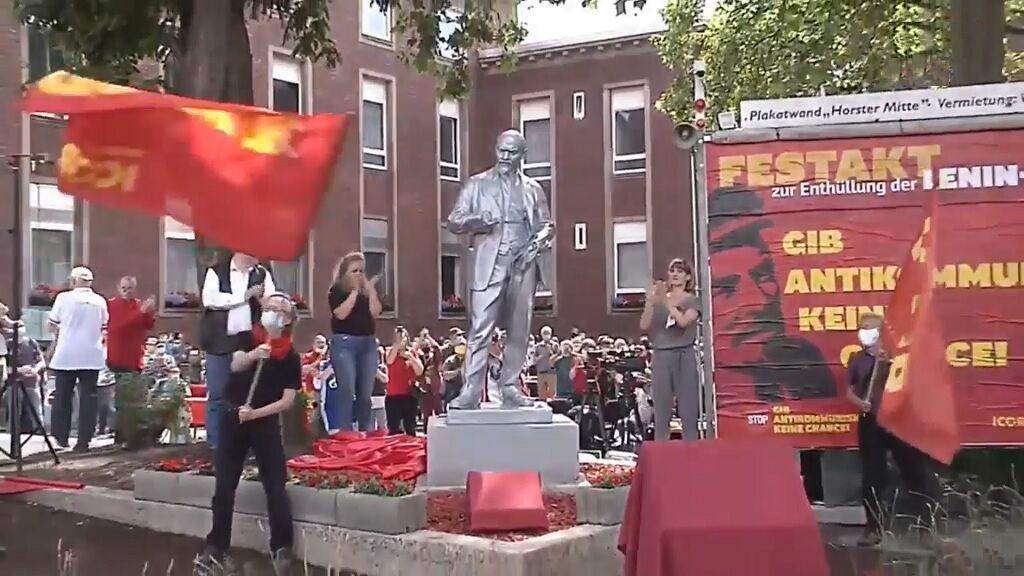 Відкриття пам'ятника Леніну в Гельзенкірхені