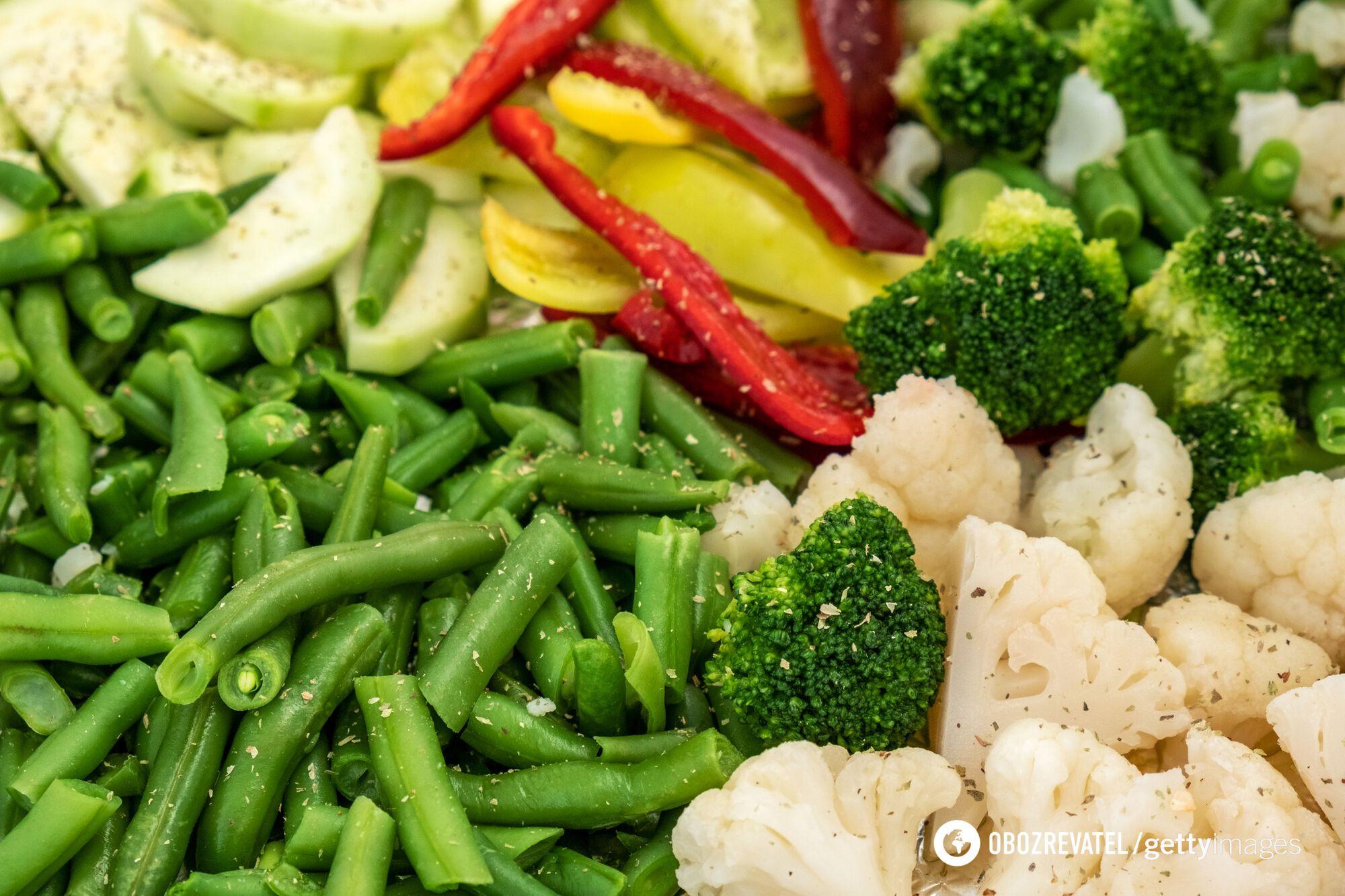 Под действием высоких температур овощи теряют полезные свойства