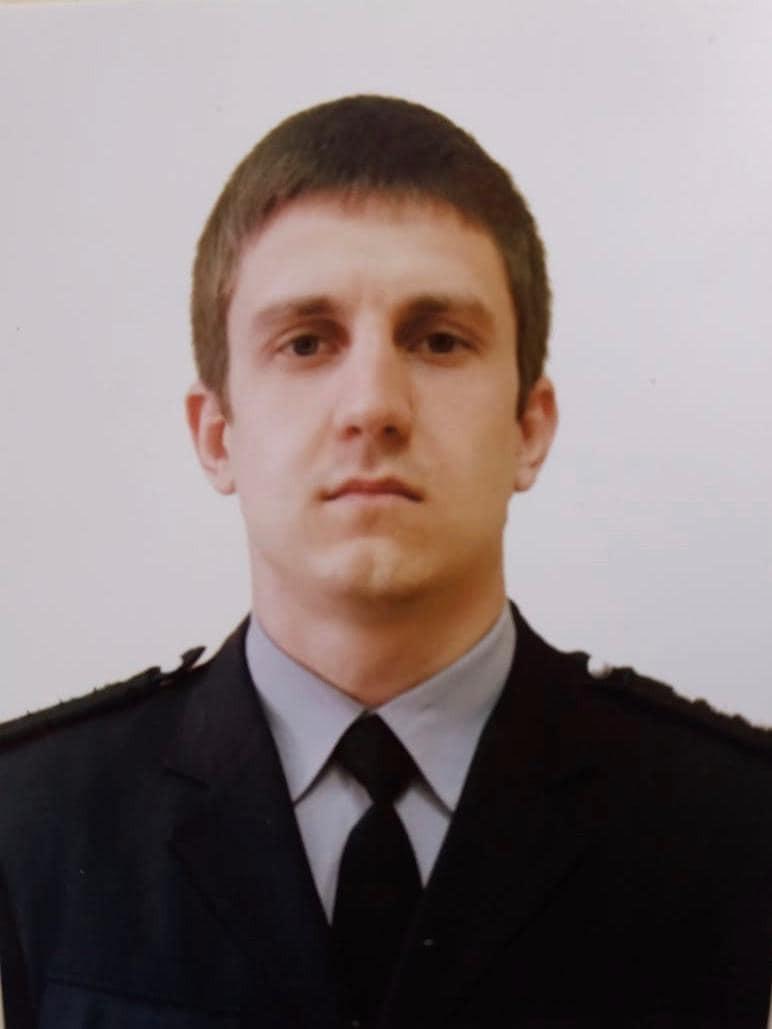 Погибший полицейский Дарвин Потуданский (Facebook Национальной полиции Украины)
