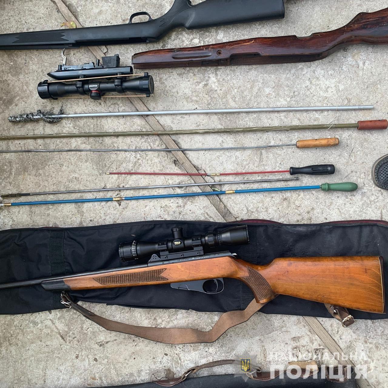 Правоохранители обнаружили разнообразное оружие