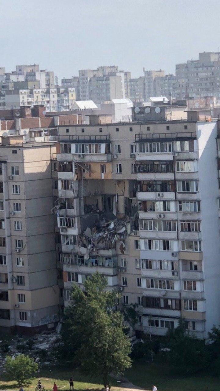 Из-под завалов были деблокированы нескольких лиц