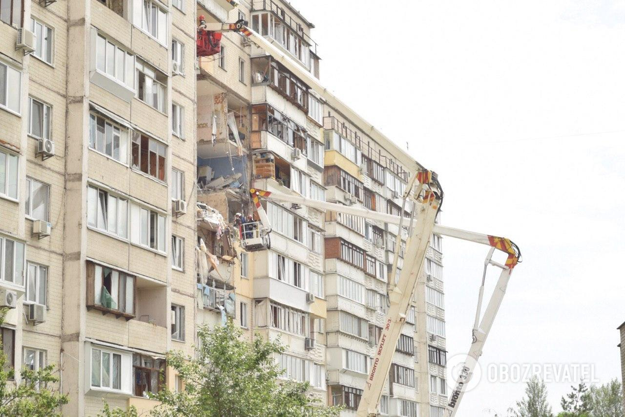 Спасатели предупреждают об угрозе обрушения здания