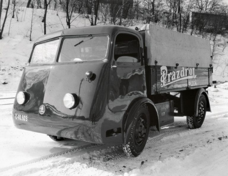 Электрический грузовик Skoda