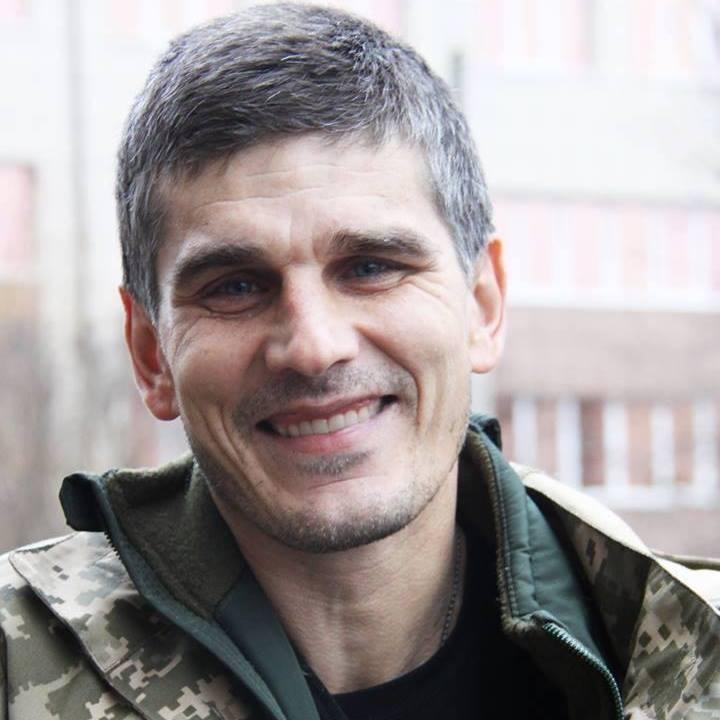 Роман Богатырь. Фото - фейсбук майора ВСУ