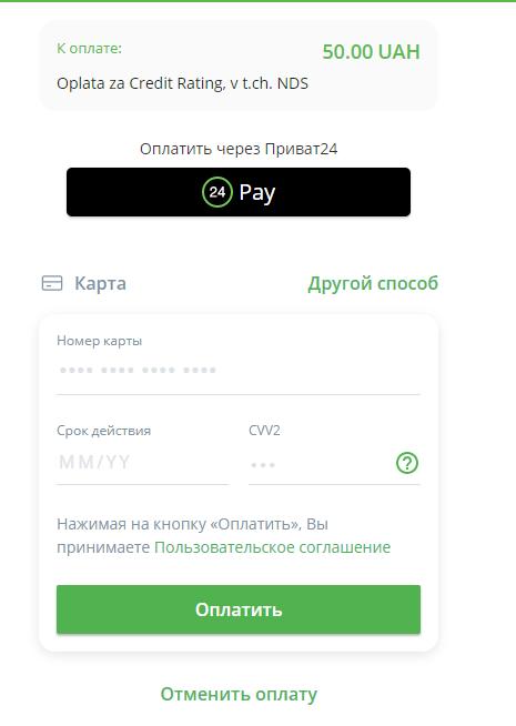Оплатить услугу можно в онлайн-режиме
