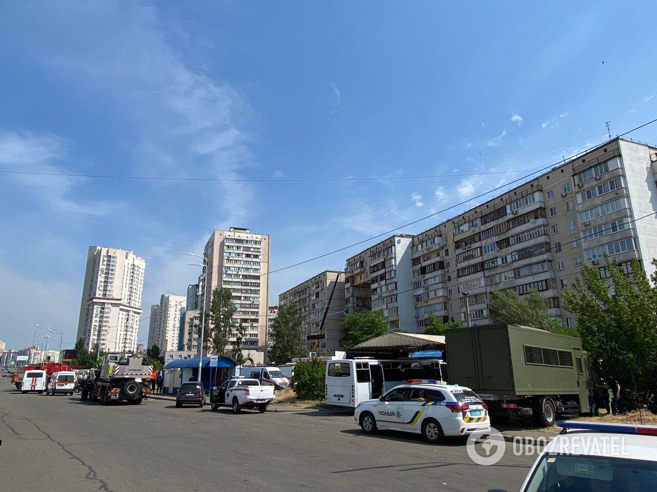 В Киеве произошел взрыв в доме