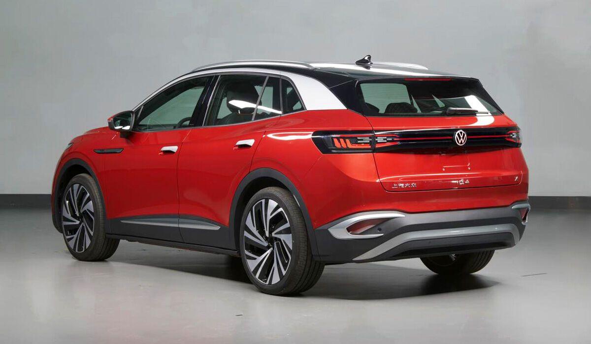 Электрокроссовер VW ID.4X выполнен в стилистике VW ID.3;
