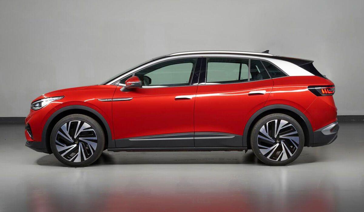 Volkswagen ID.4X демонстрирует дизайн глобальной модели;