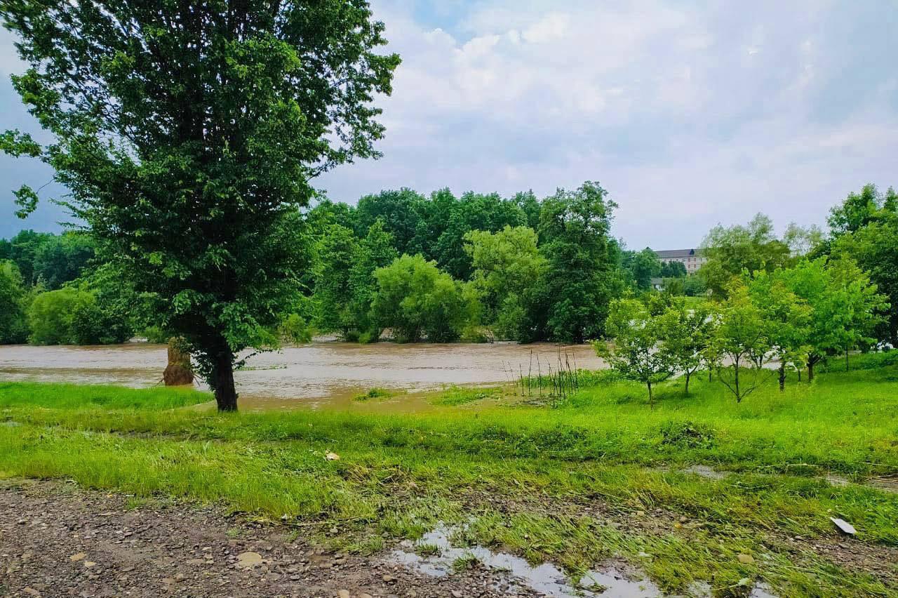 Річка Туринка вийшла з берегів