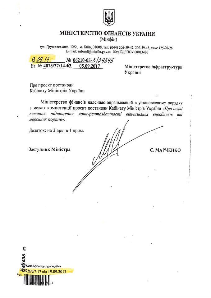 Документ по делу Омеляна
