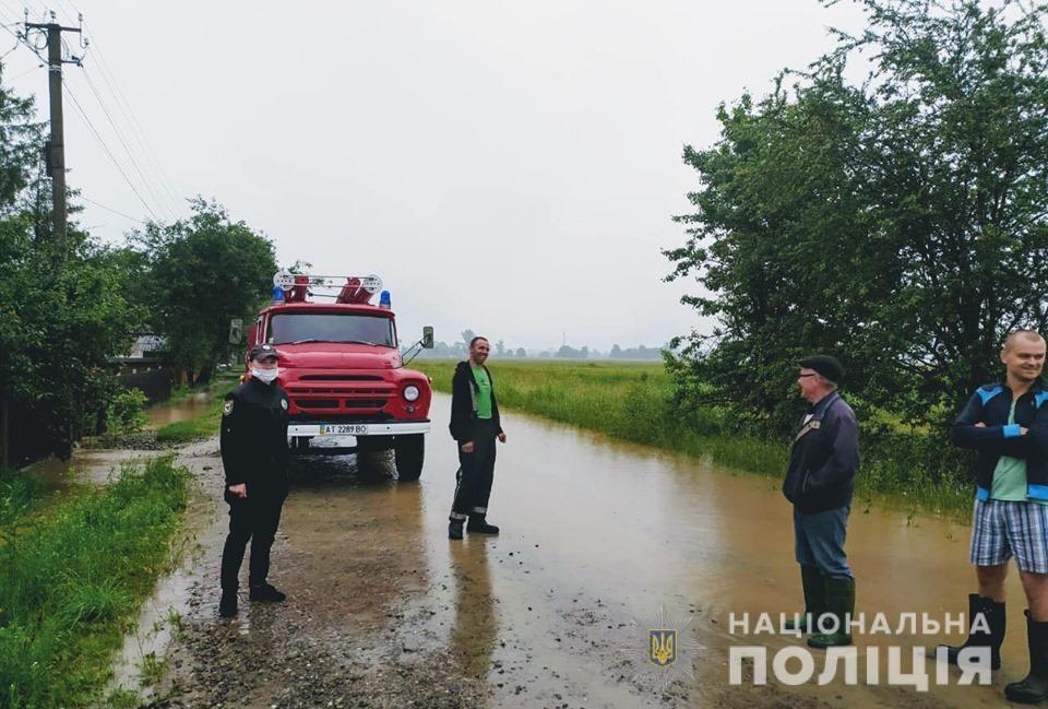 Негода на заході України