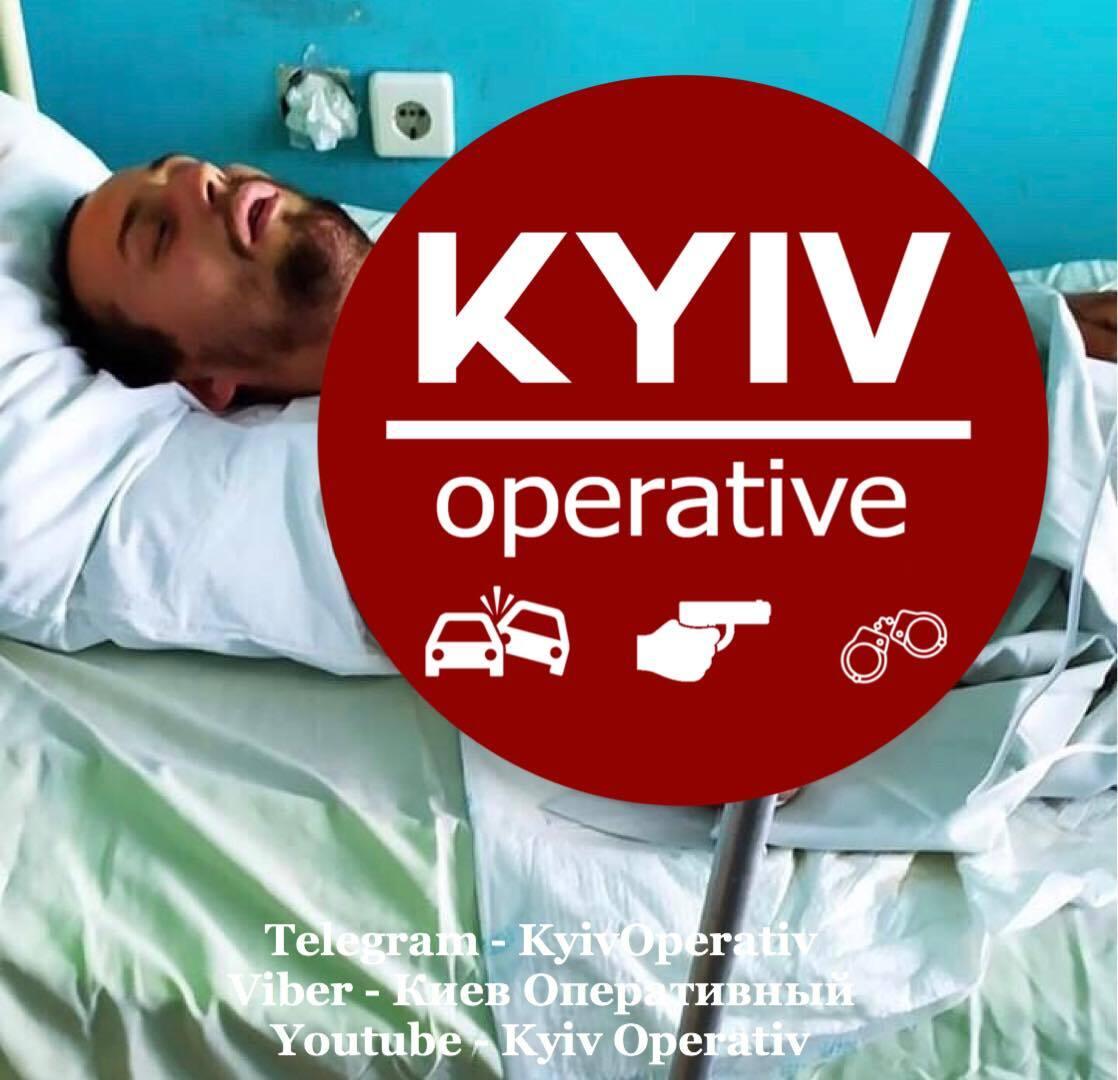 В Киеве напали на молодого парня