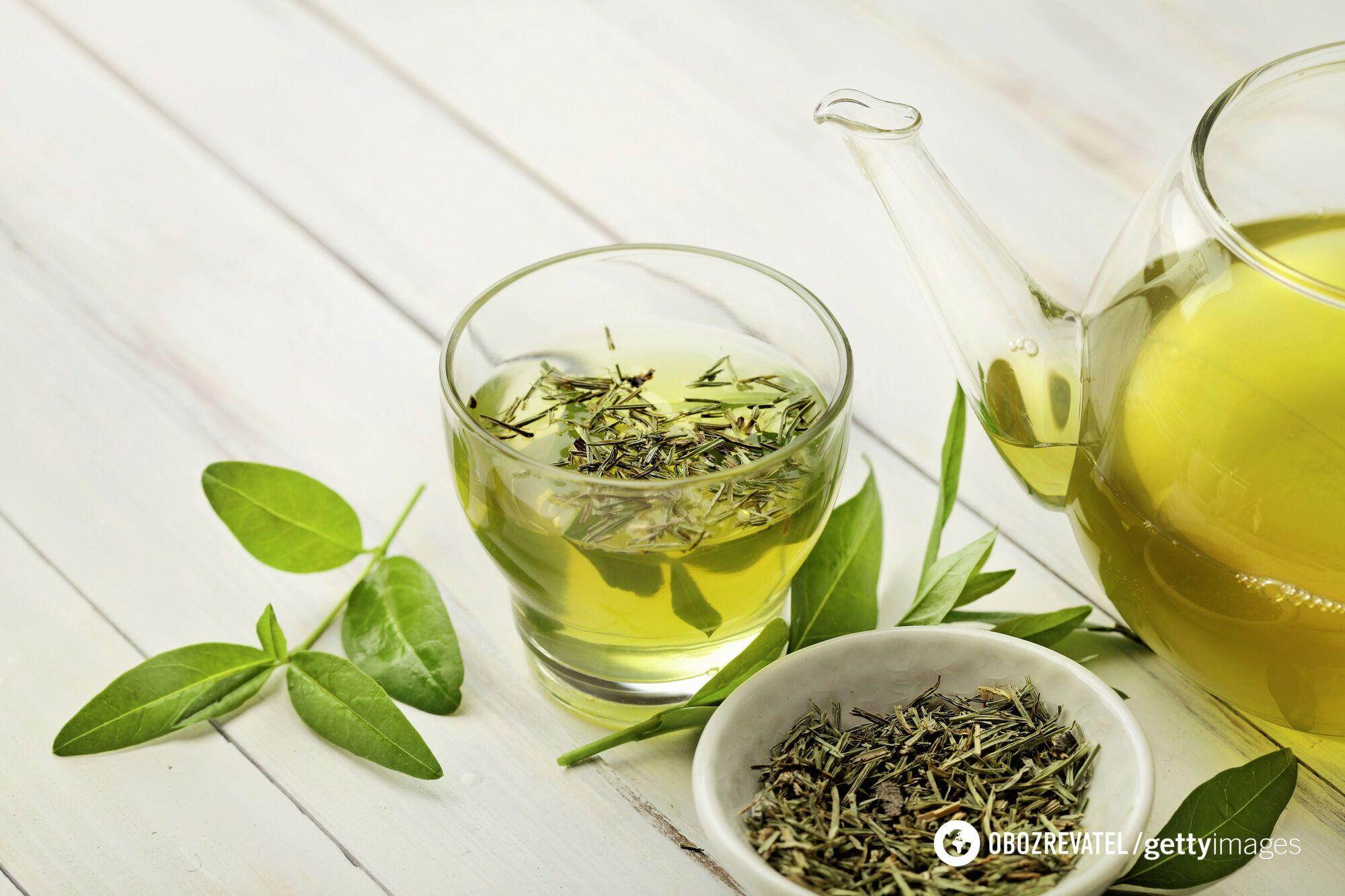 Зеленый чай защищает кожу от старения