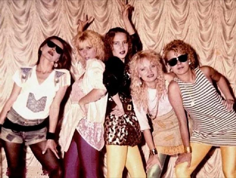Наряд на дискотеку в 80-х годах в СССР