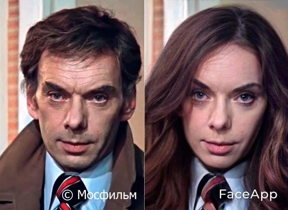 Олексій Баталов: як виглядав би жінкою