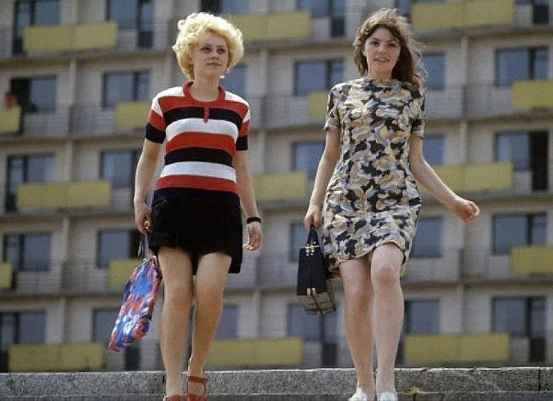 С мини-юбками в СССР поначалу пытались бороться